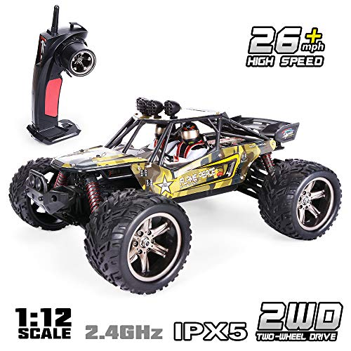 GPTOYS RC Car 38km/h Remote Control Truck Crawler Off-Road Monster 1:12 2.4 GHz 2WD S916 (Update Version)