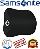 Samsonite SA5942 \ Travel Neck Pillow for Car, SUV \ Helps Relieve Neck Pain \ 100% Pure Memory Foam