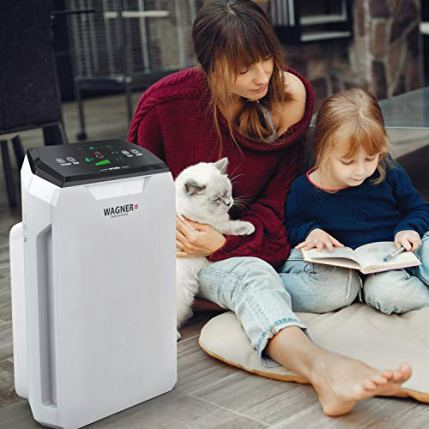 WAGNER-Switzerland-Air-Purifier-WA777-HEPA-13-Medical-Grade-Filter-i-Sense-air-Quality-Monitor-for-500-sqft-Rooms-Removes-Mold-Odors-Smoke-Allergens-Germs-Pet-Dander-etc-White