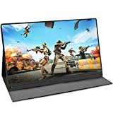 UPERFECT 4K Computer Monitor 15.6' Gaming Display Portable Usb C Monitors 3840 x 2160 UHD with Stand Case IPS Screen Speakers OTG VESA Fit for HDMI Type-C Mini DP PD Xbox Raspberry Pi Drone Win PC Mac