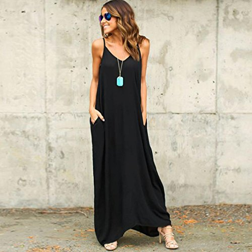 ad6be88182a TAORE Plus Size Hippie Boho Womens Casual Summer Cocktail Party Dress Beach  Long Maxi Dress - My Maxi Dress