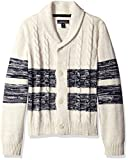 Product review for Nautica Boys' Shawl Collar 'Portmaster' Striped Cardigan Sweater