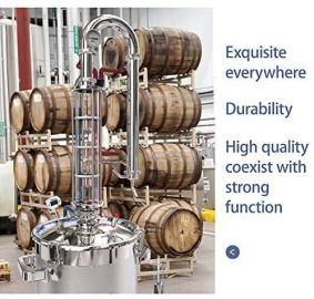 YUEWO-Moonshine-Still-58-Gal-22-litres-Stainless-Steel-Wine-Making-Kit-Water-Distiller-Home-Brewing-Kit-for-DIY-Whisky-Wine-Brandy-Gin-Vodka