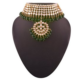 I-Jewels-Traditional-Kundan-Pearl-Choker-Necklace-Set-for-Women-K7058G