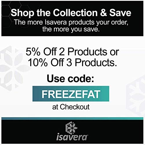 Isavera Fat Freezing System | 'Freeze Fat' at Home | Cold Body Sculpting Wrap/Belt | Helps Target Look of Tummy & Shape Stomach | Fat Freezing Waist Trainer (Fat Loss Alternative) 9