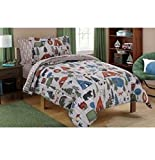 Mainstays Kid's Camping Design Bedding Set in a Bag FULL SIZE