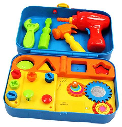 Kidoozie Cool Toys Tool Set - Includes Audio Responses to Encourage Learning