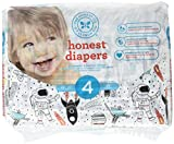 The Honest Company Honest Disposable Baby Diapers, Space Travel, Size 4, 29 ct