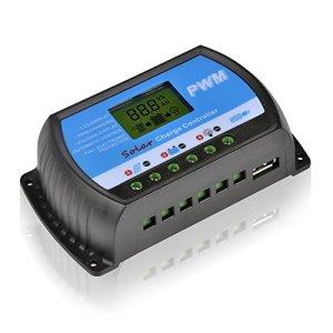 RTD 20A 30A PWM Solar Controller