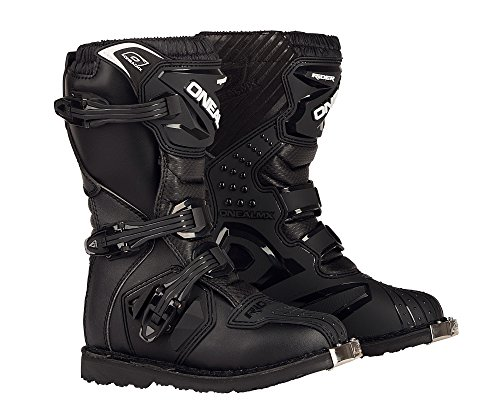 O'Neal Youth Rider Boots (Black, Size 4)