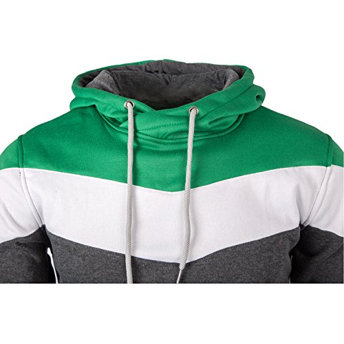 Mooncolour Mens Novelty Color Block Hoodies Cozy Sport Outwear 17 Fashion Online Shop gifts for her gifts for him womens full figure