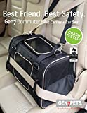 Crash Tested Gen7 Commuter Dog, Cat, Pet Carrier and Car Seat (Black)