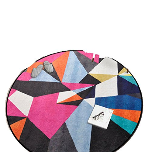 Homesuns Beach Towels Room Carpet Geometric Yoga Mat Sofa Floor Mats Doormat Kids Crawling Play Mat Area Rugs,60x60cm,C