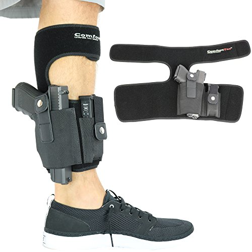 ComfortTac Ankle Holster with Calf Strap and Spare...