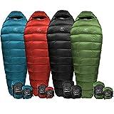 Outdoor Vitals Summit 0°F - 20°-30°F Down Sleeping Bag, 800 Fill Power, Mummy, Ultralight, Camping, Hiking