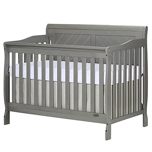 #2 - Dream On Me Ashton Full Panel Convertible 5-in-1 Crib