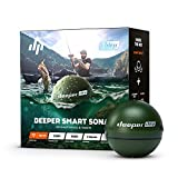 Deeper Chirp Smart Sonar - Castable, Portable Fish Finder and Depth Finder, Onshore or Offshore, Freshwater or Saltwater