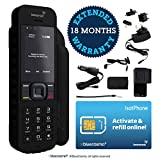 BlueCosmo Inmarsat IsatPhone 2.1 Satellite Phone Kit (SIM Included) - Global Coverage - Voice, SMS, GPS Tracking, Emergency SOS - Prepaid and Monthly Service Plan Options