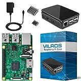 Vilros Raspberry Pi 3 Basic Starter Kit, Black Case