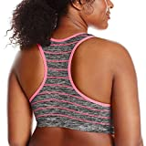 Product review for Flex Women's Plus-Size Stripped Push-Up Sports Bra