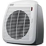 DeLonghi HVY1030 1500-Watt Fan Heater - Gray with White Face Plate