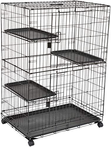 AmazonBasics 3-Tier Cat Cage Playpen