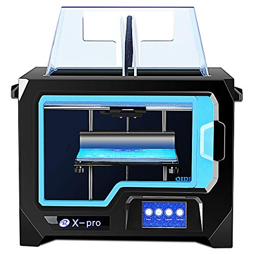 QIDI TECHNOLOGY 3D Printer Newest Model: X-Pro,Breakpoint Printing,Dual Extruder,High Precision Printing ​