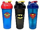 PerfectShaker Hero Series Shaker, Batman, Superman, and Wonder Woman Combo