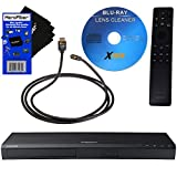 Samsung 4K UHD Blu-ray DVD Player (UBD-M8500) + Remote Control + Xtech Blu-ray Maintenance Kit + Xtech High-Speed HDMI Cable w/Ethernet + HeroFiber Ultra Gentle Cleaning Cloth