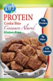 Kay's Naturals Protein Cookie Bites, Cinnamon Almond, Gluten-Free, Low Carbs, Low Fat, Diabetes Friendly All Natural Flavorings, 1.2 Ounce (Pack of 6)