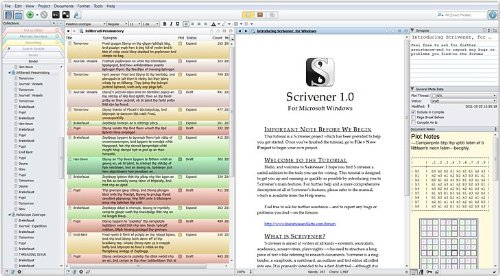 Scrivener Writing Software Download