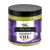 Primal Essence Organic Virgin Coconut Oil Naturally Infused with Whole-Plant Extracts (Thai Curry) 8 oz