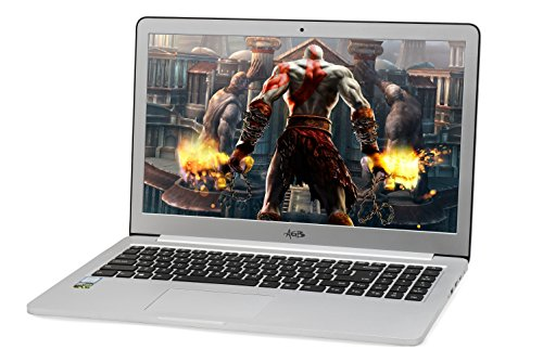 "AGB Tiara 2403-R 15.6"" Laptop (7th Generation Intel Core i7-7500U (Dual Core Processor) /8 GB/512 GB SSD and 1 TB HDD /NVIDIA GTX 950 2G DDR5) Win 10 Pro/Aluminium Body 41"