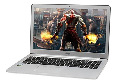 "AGB Tiara 2403-R 15.6"" Laptop (7th Generation Intel Core i7-7500U (Dual Core Processor) /8 GB/512 GB SSD and 1 TB HDD /NVIDIA GTX 950 2G DDR5) Win 10 Pro/Aluminium Body 1"