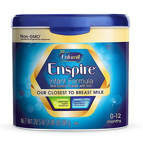 Enfamil Enspire Infant Formula - Our Closest to Breast Milk - Powder, 20.5oz Reusable Tub