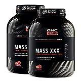 GNC AMP Amplified Mass XXX- Strawberry - Twin Pack