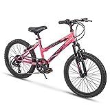Huffy Kids Hardtail Mountain Bike for Girls, Summit Ridge 20 inch 6-Speed