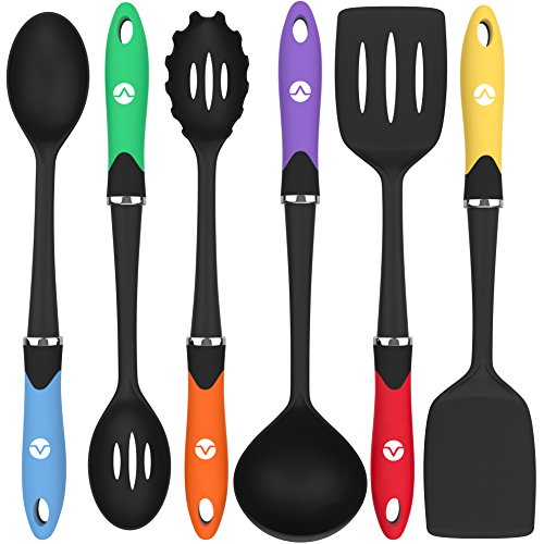 Vremi cooking utensils for nonstick cookware