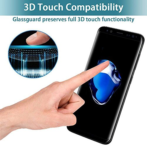 2-Pack-Galaxy-S8-Plus-Privacy-Tempered-Glass-Screen-Protector-CTREEY-3D-Curved-Case-Friendly-for-Samsung-Galaxy-S8-PlusAnti-Spy9H-HardnessNo-BubbleAnti-Scratch-Film-Black