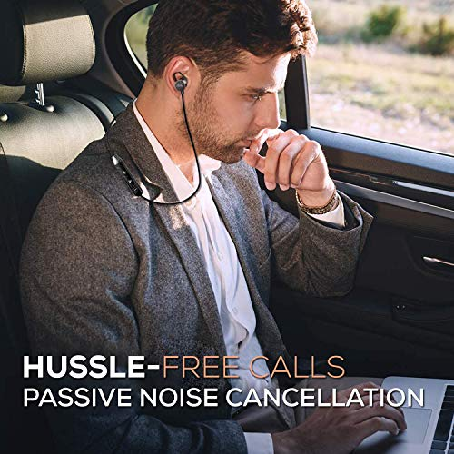 51GeGY0Bp3L WeCool N1 Bluetooth Headphones with Dynamic Drivers for Immersive Music Expertise, IPX5 Sweatproof, 12 Hours Playtime, Versatile Neckband Earphones (Black)