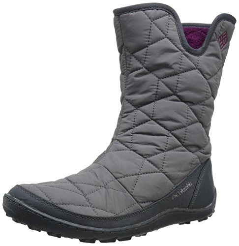 Columbia Women's Minx Slip II OH Cold Weather Boot, Shale/Dark Raso, 8 M US