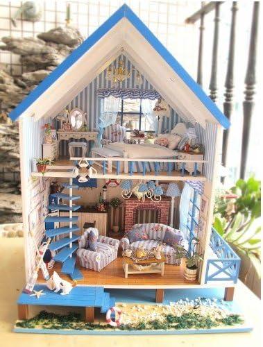 Dollhouse handmade kit set miniature The Aegean Sea of Love 2Love of the Aegean Sea