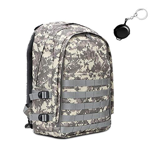 Level 3 Backpack, Waterproof Camouflage Laptop Backpack, Military Tactical Assault Backpack Rucksack Molle Daypack for Hiking, Climbing, Camping (Camouflage Dusty)