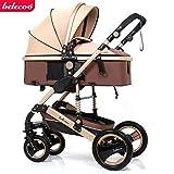 High end 2 in 1 Baby Stroller Newborn Carriage Infant Travel Car Foldable Pram Pushchair Stroller Travel Stroller