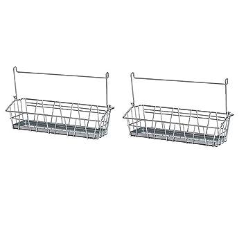 Ikea Rangement Panier En Fil Métallique à épices De Cuisine