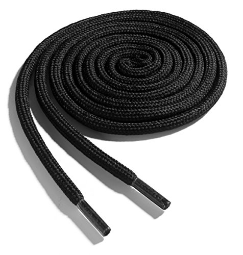 OrthoStep Thick Round Athletic 42 inch Black Shoe...