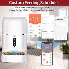 AIIYME-Food-Dispenser-Dog-Cat-Feeder-Wi-Fi-Enabled-APP-with-Voice-Recorder-for-iOS-and-Android-Programmable-Timer-for-up-to-6-Meals-per-Day-6L-Food-Capacity-Dual-Power-Mode