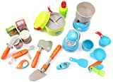 PowerTRC Camping Gear Tools Toy Playset (20 Pieces)