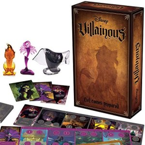 Ravensburger Disney Villainous: Evil Comes Prepared Strategy Board Game for Age 10 & Up – Stand-Alone & Expansion to The 2019 TOTY Game of The Year Award Winner – 2020 TOTY Game of The Year Finalist