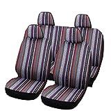 SHAKAR Universal Delux Baja Blanket Car Seat Covers Full Set(5 Seats)